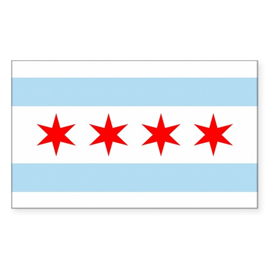 chicago flag rectangle 1