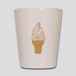 Soft Serve Ice Cream Cone Shot Glass