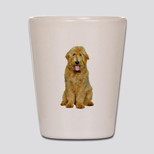 Goldendoodle Shot Glass