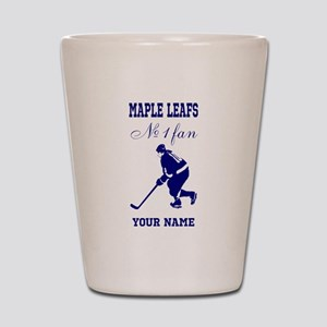 Number 1 Hockey Fan Shot Glass