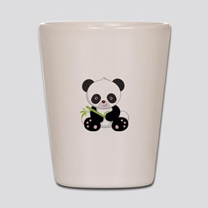 Cute Baby Bamboo Panda Shot Glass