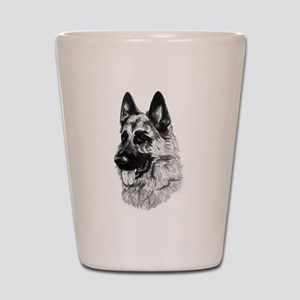 German Dog Shot Glass