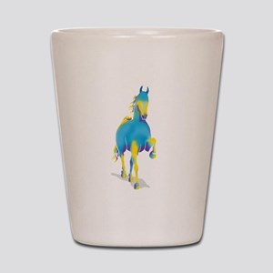 Indigo Horse Shot Glass