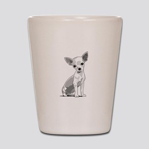 Chiuahua Shot Glass