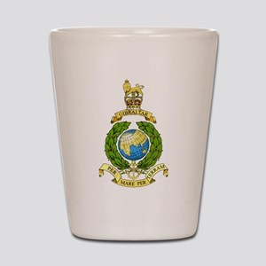 Royal Marines Shot Glass