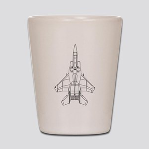 Air Force Jet Shot Glass