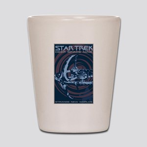 Retro Star Trek:DS9 Poster Shot Glass