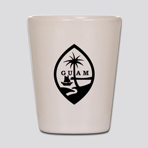 Guam Shot Glass