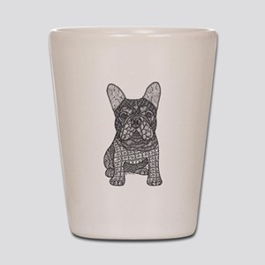 My Love- French Bulldog Shot Glass