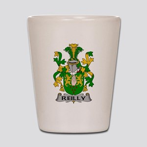 Reilly Family Crest Shot Glass