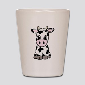 Cute Cartoon Cow Shot Glass