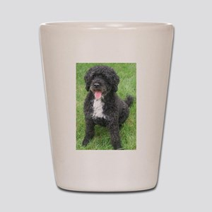Portuguese Waterdog Shot Glass