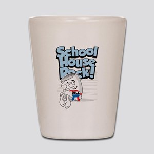 Schoolhouse Rock Bill Shot Glass