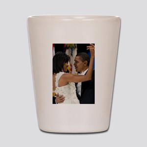 Barack and Michele Obama Shot Glass