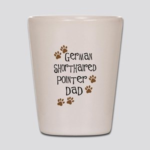 G. Shorthaired Pointer Dad Shot Glass