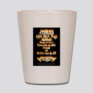 Jeffster Fire Tour Shot Glass