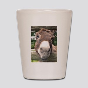 Donkey Face Shot Glass