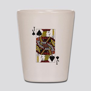 Jack of Spades Shot Glass