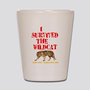 I survived the Wildcat! Shot Glass