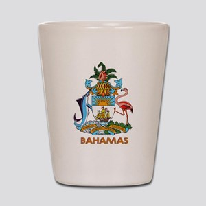 Coat of Arms BAHAMAS Shot Glass