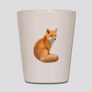 animals fox Shot Glass