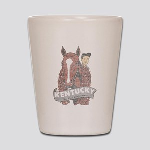 Vintage Kentucky Derby Shot Glass