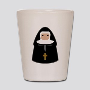 Cute Nun Shot Glass