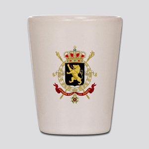 Coat of Arms Belgium Shot Glass