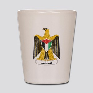 Palestine Coat Of Arms Shot Glass