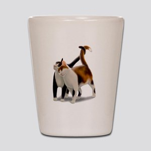 Kitty Cat Friends Shot Glass
