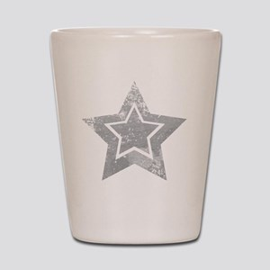 Cowboy star Shot Glass