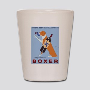 Appellation Boxer Shot Glass
