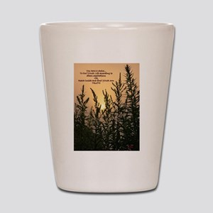 Sunrise Sand Shot Glass
