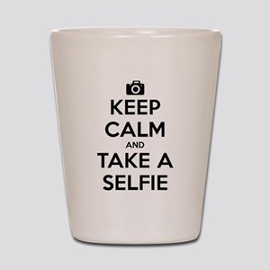 Keep Calm and Take a Selfie Shot Glass