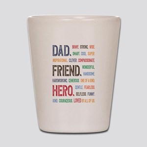 Dad Hero Shot Glass