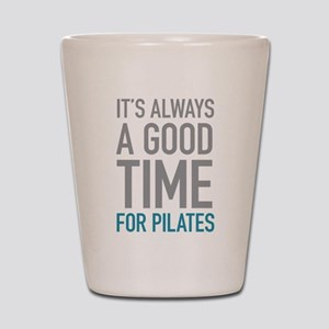 Pilates Shot Glass
