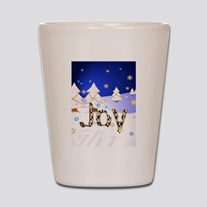 Season's Joy Shot Glass