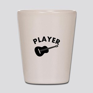 Guitar player design Shot Glass