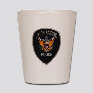 Union Pacific Police patch Shot Glass