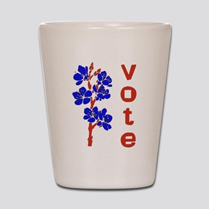 2008 Election Voter Shot Glass