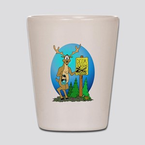 Deer Season Closed Shot Glass