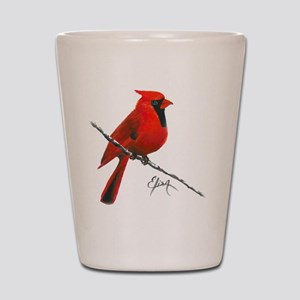 cardinal (2) Shot Glass