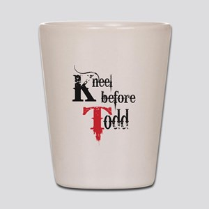 Kneel Before Todd 2 Shot Glass