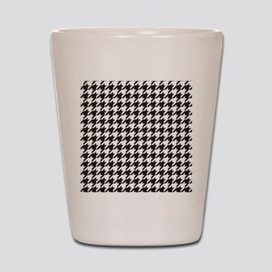 Houndstooth Shot Glass