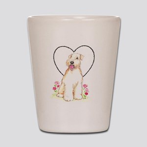 Soft Coated Wheaten Terrier Shot Glass