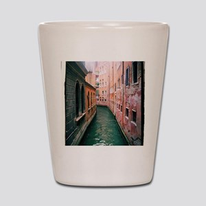 Canal in Venice Italy Shot Glass