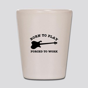 Cool Electric guitar gift items Shot Glass