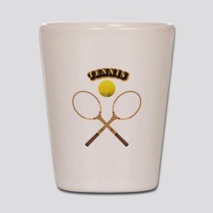 Sports - Tennis Shot Glass