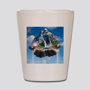 Environmental care, conceptual image Shot Glass