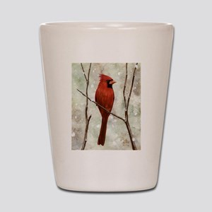 Cardinal: Shot Glass